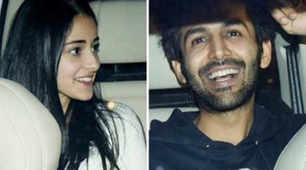 Lovebirds Kartik Aaryan and Ananya Pandey come together for a movie