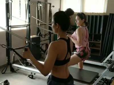 Malaika-Sara give us major fitness goals