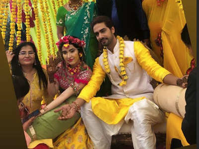 Sheena, Rohit start wedding celebrations