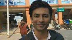 Actor Aashay Mishra shoots for a serial in Kanpur