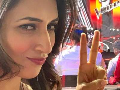Divyanka starts shooting for 'The Voice'