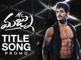 Mr. Majnu Title Song: Eight-pack Akhil rocks with stage with terrific dance moves