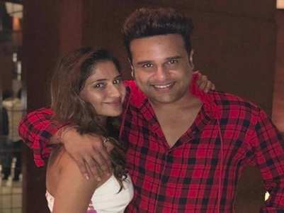 Arti congratulates brother Krushna