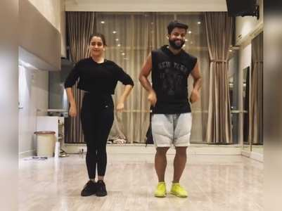 Video: Sanya Malhotra grooves to 'Dil Dooba' song