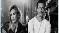 Brad Pitt not dating Charlize Theron