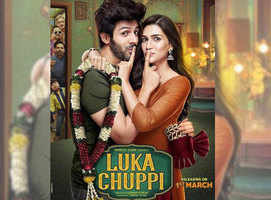 Here's the first poster of 'Luka Chuppi'