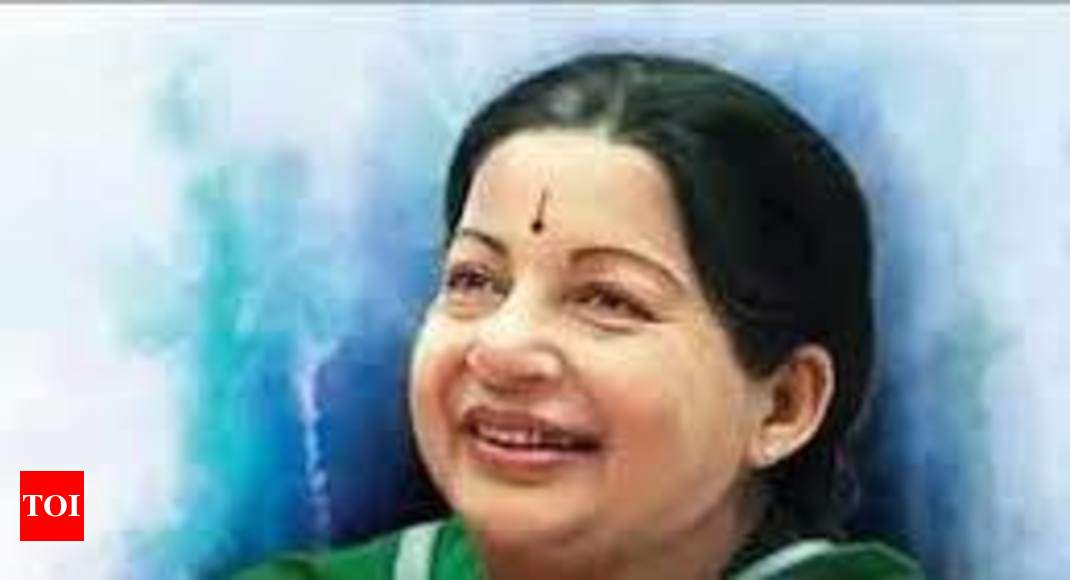 Madras high court green signals construction of memorial for Jayalalithaa, says she can't be termed as convict - Times of India