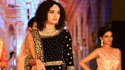 Firing up the ramp in ethnic wear