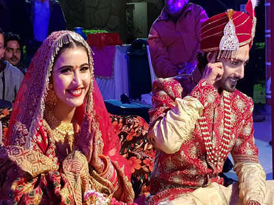 Rohit-Sheena are officially husband-wife