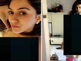 Hansika Motwani's private photos leaked online