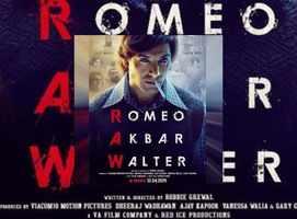 'Romeo Akbar Walter' first poster