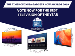 Times of India Gadgets Now Award: Vote for television of the year 2018