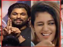 Did South star Allu Arjun just do a better wink than 'wink girl' Priya Prakash Varrier herself?