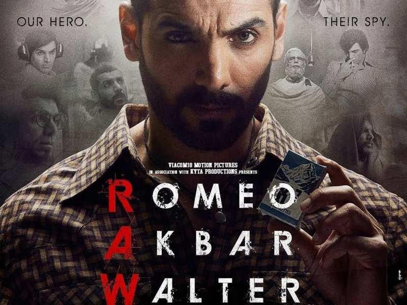 New poster of John Abraham's 'Romeo Akbar Walter' (RAW) is out! | Hindi Movie News - Times of India