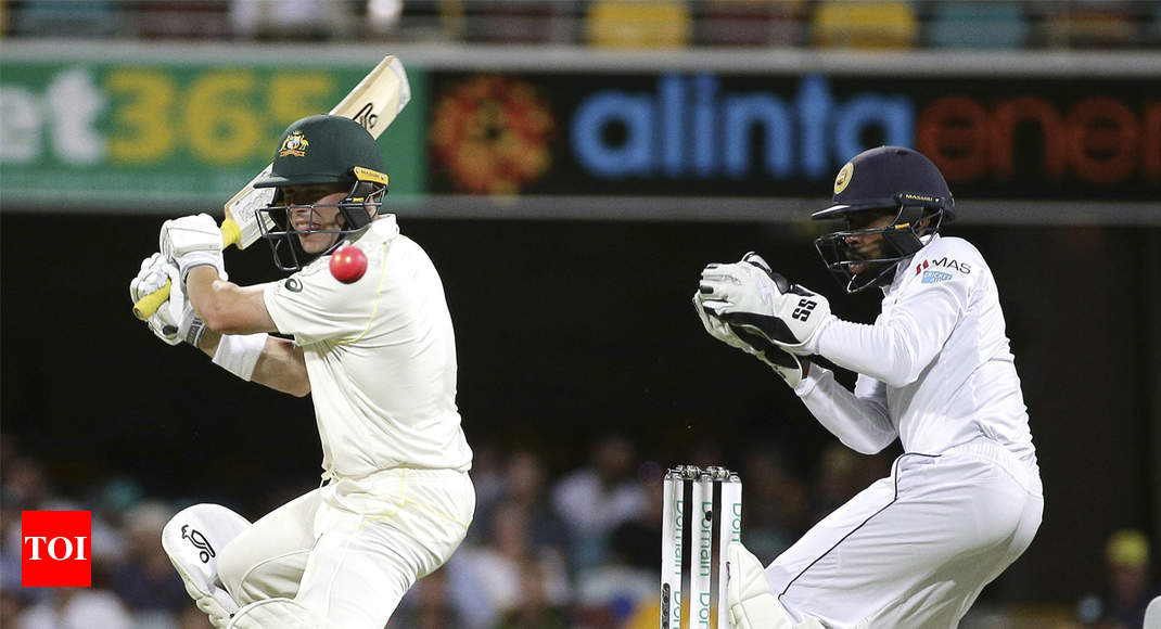 Australia Vs Sri Lanka 1st Test Bowlers Put In Command Against Brisbane Cricket News Times Of India