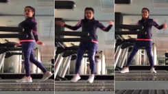 Bhojpuri sensation Nidhi Jha grooves on treadmill, video goes viral