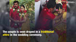 TV actors Adithyan Jayan and Ambili Devi get hitched