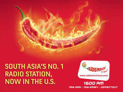 Radio Mirchi Starts Operations In Us Times Of India