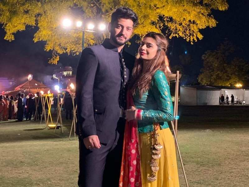 Ishqbaaz's Kunal Jaisingh wishes wife Bharati Kumar on her birthday says he is lucky to have her