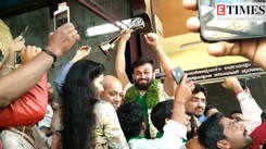 Bigg Boss Kannada 6 winner Shashi kumar gets a grand welcome by fans