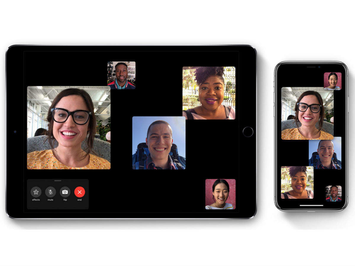 iPhone Facetime: Apple iPhone users, here's why you can't do Group FaceTime calls right now - Times of India