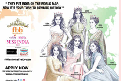 Be the Next Miss India 2019
