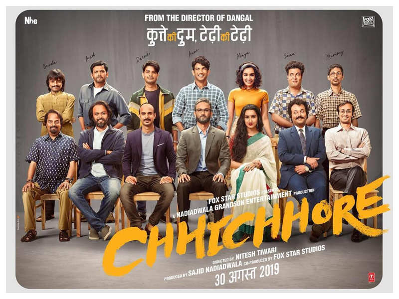 Chhichhore Nicknames Of The Characters Was Inspired From Nitesh Tiwari S College Life Hindi Movie News Times Of India