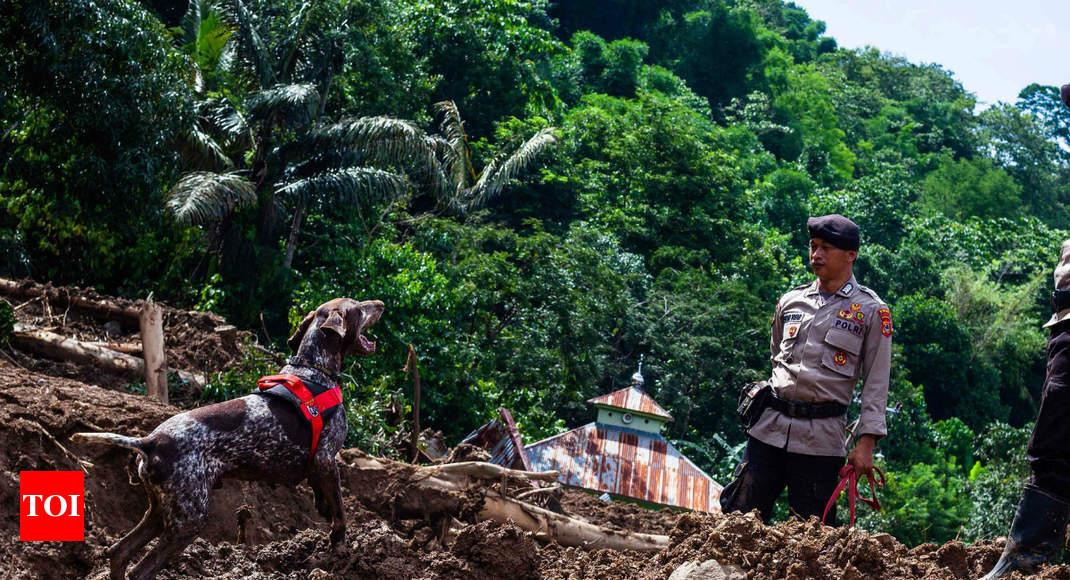 Indonesia flood, landslide death toll hits 70