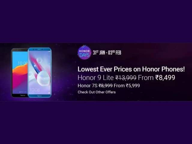 Honor Days on Flipkart: Get upto Rs 9,000 discount on Honor 10 Lite, Honor 9N, Honor 10 and more