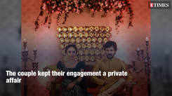 Unseen pictures of Pearle Maaney and Srinish Aravind's engagement