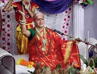 Kinnar storyteller now Mahamandaleshwar | Allahabad News