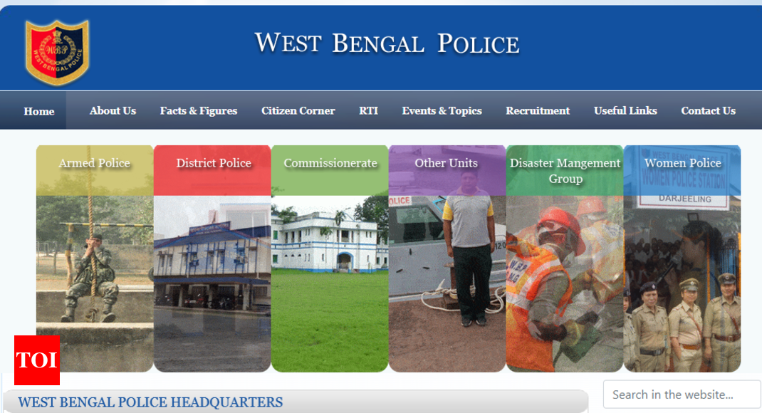West Bengal Police recruitment 2019: Application for 8,419