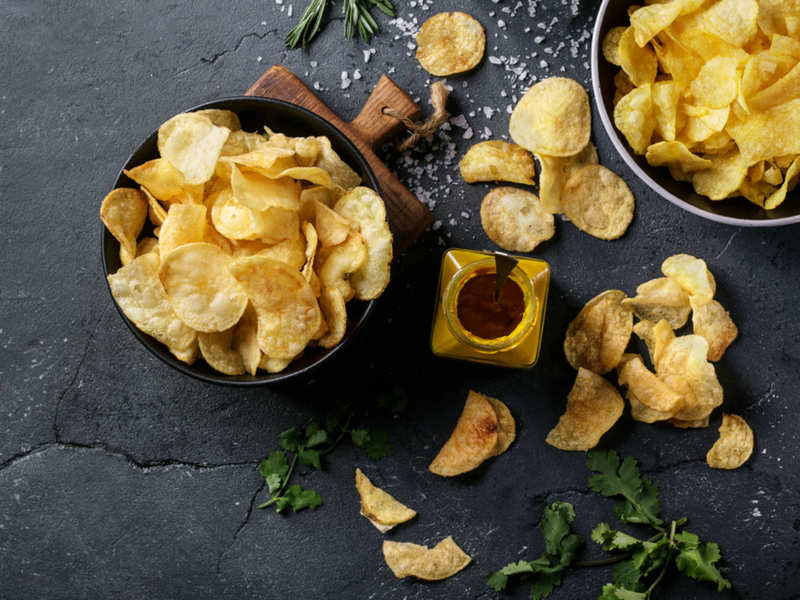 weight loss: How do fried chips affect your weight loss efforts? - Times of  India
