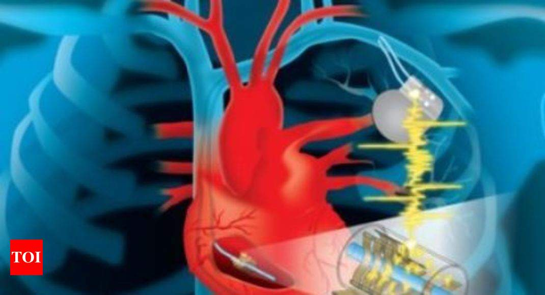 New device harvests heart's energy to power life-saving implants - Times of India