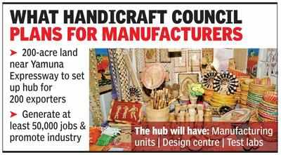 Greater Noida: Exports body keen to set up crafts hub, seeks