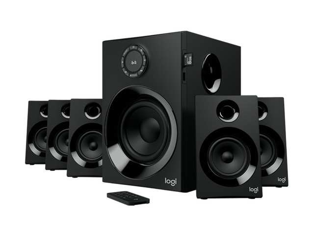 Logitech launches Z607 speaker system, priced at Rs 10,995
