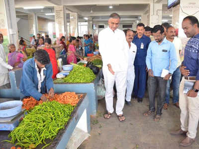 In a first, Siddipet market to sell all under one roof