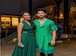 Actress Sonu Gowda is happy for soon-to-be-married couple Kiran Srinivas and Hitha Chandrashekar