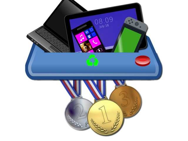 Medals at 2020 Tokyo Olympics will be made from recycled phones, laptops