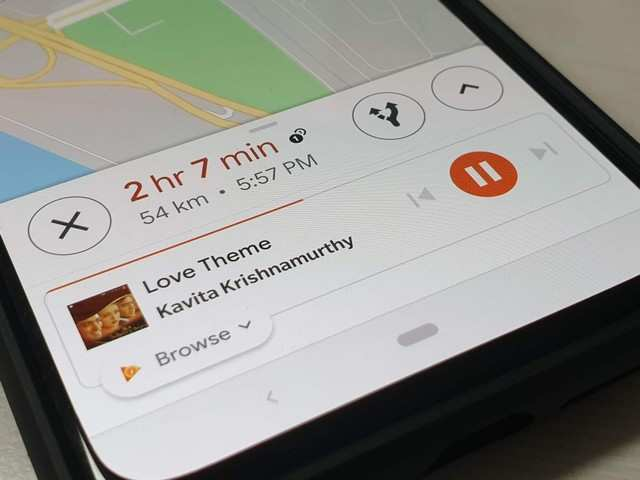 Add music controls to Maps: How to add Google Play Music, Apple