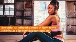 Beautiful childhood photos of Nomzamo Mbatha as a beauty pageant queen