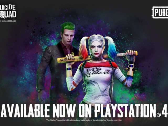 The Joker and Harley Quinn finally arrive in PUBG