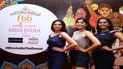 Unveiling of fbb Colors Femina Miss India 2019 Andhra Pradesh finalists