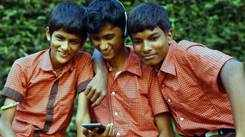 Kannadigas volunteering to make audio books of Kannada textbooks for visually-challenged children