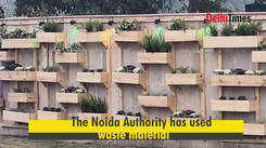 Best out of waste at Noida's Shilp Haat