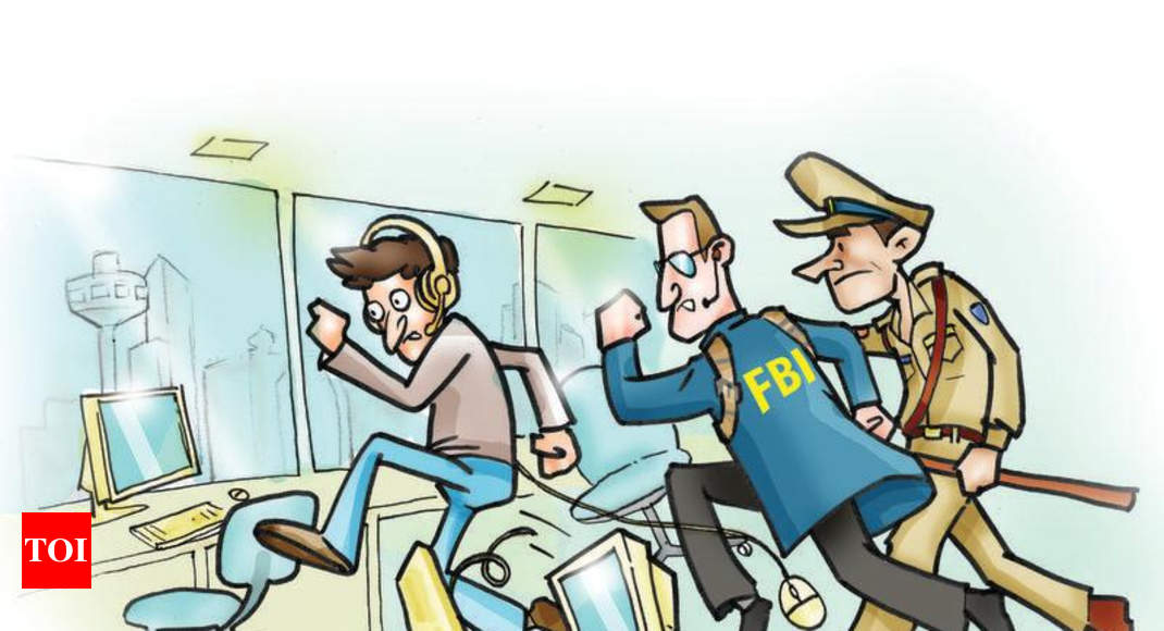 FBI team in Ahmedabad over con call centres