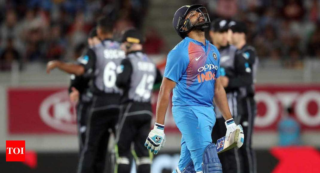 Disappointing to not cross the line, says Rohit Sharma
