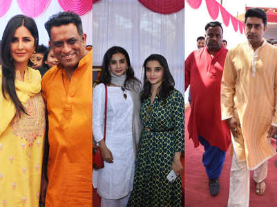 Celebs attend Anurag Basu's Saraswati Puja