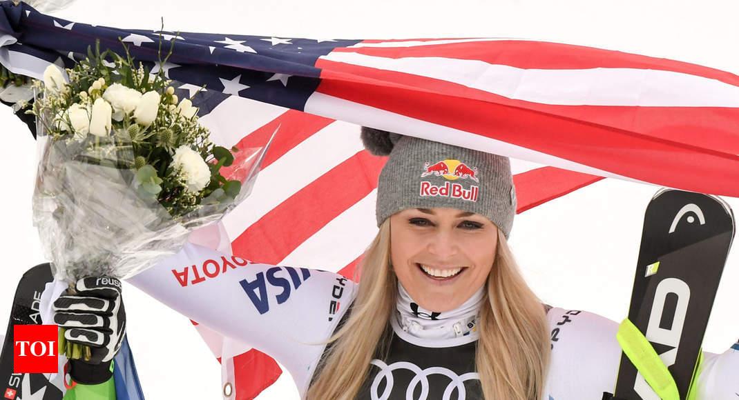 Lindsey Vonn - ski racer who transcended gender divide