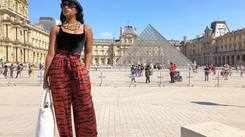 SA beauty queen Phuti Khomo enjoys traveling the world